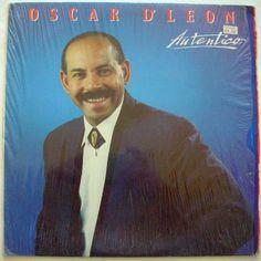 OSCAR D'LEON AUTENTICO wrapped Lp Vinyl, Vinyl Records, Salsa Music, Jazz Music, Singer, Fictional Characters, Orchestra, Singers, Salsa
