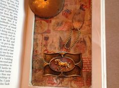 How to Cut a Shadow Box in an Altered Book