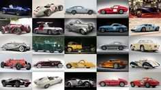 This synopsis of the 100 most expensive cars ever sold at auction includes images of all cars, links to the catalog descriptions, and analysis of the marques and models which make up the top 100, which auctioneers sold them, when and where they sold ... a full snapshot of the rare car marketplace.