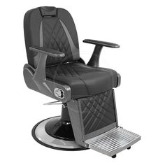 Scaun profesional de frizerie modern si rezistent-KARISMA BA Barber Chair, Barber Shop, Berber, Display, Furniture, Modern, Design, Home Decor, Floor Space