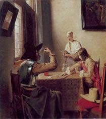 Soldiers Playing Cards, Pieter de Hooch