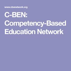 C-BEN: Competency-Based Education Network