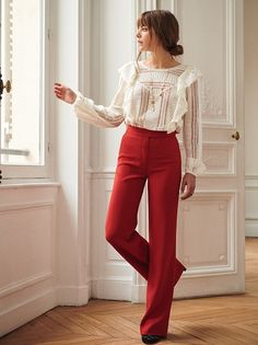 25 Crazy Women's Top Patterns Only For You Get An Exciting Look Classy Outfits, Casual Outfits, Fashion Outfits, Womens Fashion, Fashion Trends, Inspiration Mode, Parisian Style, Feminine Style, Moda Femenina