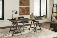 A height adjustable desk never looked so good! Presenting the Deponte Home Office desk; exclusively part of our 2018 Scott Living Collection. Contemporary Office Desk, Modern Office Desk, Home Office Desks, Office Furniture, Office Suite, Bathroom Furniture, Kitchen Contemporary, Accent Furniture, Rustic Furniture