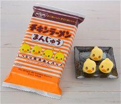 日清食品は、「チキンラーメン」のキャラクター「ひよこちゃん」の和菓子「チキンラーメンまんじゅう」を、大阪府池田市の「インスタントラーメン発明記念館」と新大阪駅構内の「チキラーハウス」で8月2日に発売する