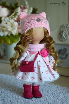 Fabric doll Rag doll Handmade doll Tilda doll от AnnKirillartPlace