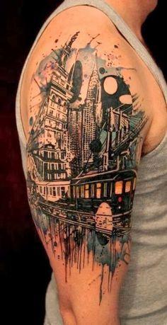 #tattoo #city