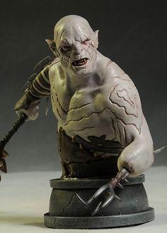 Hobbit LOTR Azog mini-bust by Gentle Giant