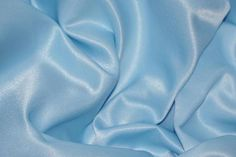 5 yards BABY BLUE Charmeuse Satin Fabric 60 wide By the Yard for wedding dresses, decorations, drapes, crafts Light Blue Aesthetic, Blue Aesthetic Pastel, Rainbow Aesthetic, Aesthetic Colors, Cinderella Aesthetic, Disney Aesthetic, Everything Is Blue, Himmelblau, Blue Pearl