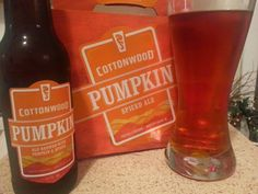 Cottonwood Pumpkin Spiced Ale.  Probably my favorite beer on Earth.