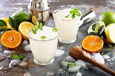 Cocktails glacés pour été chaud