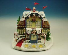 Rudolph Christmas Village Elf Dormitory Hawthorne Village ...