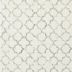 chinese trellis - slate wallpaper | Designers Guild-- These may be more muted than what you showed me, better for a large space.