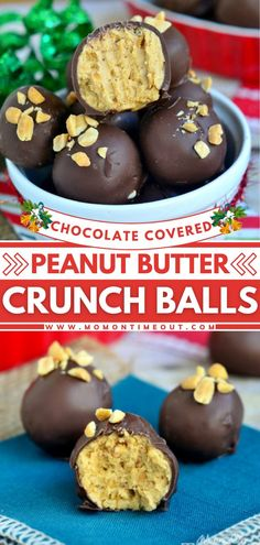 This cute dessert is the perfect addition to your holidays and cookie trays! Chocolate Covered Peanut Butter Crunch Balls will satisfy your chocolate and peanut butter cravings. Plus, it makes a great… More
