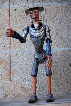 Marionette - Don Quixote  > http://puppet-master.com - THE VENTRILOQUIST ASSISTANT Become a new legend of the ventriloquism world with minimal time waste!