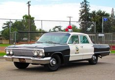 "Chevrolet Police Car with the ""bubble gum"" lights on top. All that's missing is the big search light on the side."