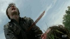Ding dong the Governor is dead - GIF - Season 4 mid season finale - Fangirl - The Walking Dead