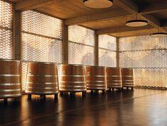 Gantenbein Wine #wine #architecture #switzerland