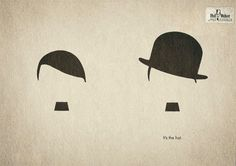 Hat makes the difference between Hitler and Chaplin