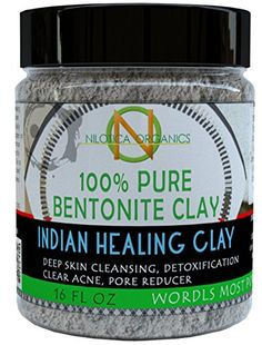 Aztec Indian Healing Bentonite Clay 1 Pound 16 oz  for Clay Deep Pore Cleansing -- Amazon most trusted e-retailer #OrganicAppleCiderVinegar