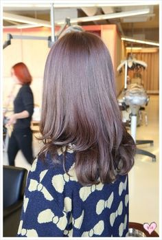 c-curl,   korean girls hair style