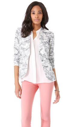 Diane von Furstenberg Paulette Sequined Blazer love the look