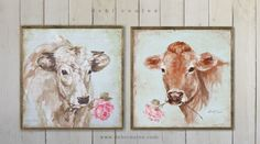 It's time to have a cow! Hope you enjoy my french farmhouse.All are available french farmhouse framed printed on wood, canvas and paper and new sizes! Hope you can stop by and take a peek at http://www.debicoules.com/shopping/french-farmhouse/ xo