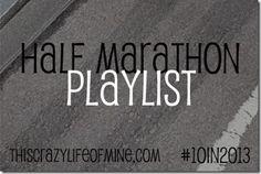 Half Marathon Playlist 2013