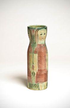 Susan andTheo Harlander  Brooklin Pottery Canadian  Vase 1950–1970   earthenware 22.7 x 7cm