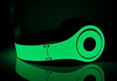Glow in the dark Beats headphones