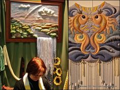 Russian punchneedle art