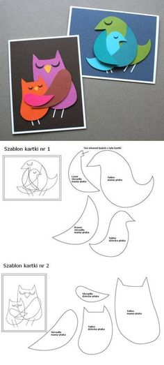 DIY Bird Paper Art DIY Projects