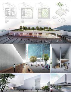 Finalistas del Concurso Nacional de Arquitectura Papalote Museo del Niño Iztapalapa / México,Propuesta de DCPP - Alfonso de la Concha y Pablo Pérez Palacios