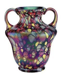 Myriad Mosaic vase Fenton