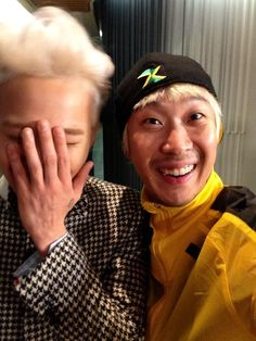 Ha Dong Hoon's Twitter with G-Dragon 130929