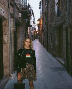 Ganni Streetstyle | Blanca Miro | Olivet Mesh Skirt