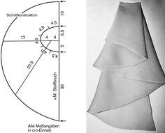 Skirt Patterns Sewing, Sewing Patterns Free, Clothing Patterns, Sewing Tutorials, Fashion Sewing, Diy Fashion, Couture Sewing, Fabric Manipulation, Sewing Basics