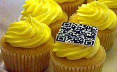Funny QR Code fails you gotta see! Did they actually try to put a QR Code on top of a cupcake?