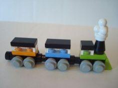 LEGO Train - Mini Miniature Small Choo Choo - Party Favor - Customize 4 U - NEW