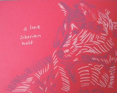 a lone wolf in siberia loves you blank card by goldencalves #DCetsy #MADEINDC #DCmade #WashingtonDC