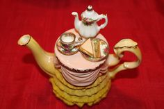 Royal+Albert+Old+Country+Roses+Teapot++Miniature+by+TeaAttheBrits,+$59.95