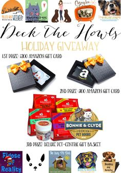 Win BIG with The Deck The Howls Holiday Giveaway | http://www.thelazypitbull.com/2015/11/deck-the-howls-holiday-giveaway/