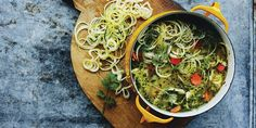 This wholesome soup recipe is a family favourite with a modern twist. Zucchini Soup, Zucchini Noodle Recipes, Zuchinni Recipes, Zucchini Noodles, Healthy Chicken Soup, Chicken Soup Recipes, Dinners To Make, Healthy Eating, Cooking Recipes