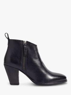 31bae5cbcaa Jigsaw Ansti Block Heel Ankle Boots