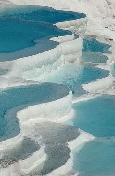 Pamukkale, Turkey | Put your feet in these Tavertines in Turkey? I wanna hear about it ...