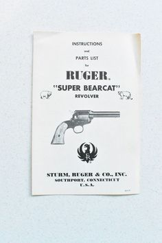 129 Best Vintage Gun Manuals images in 2019 | Firearms, Gun, Guns