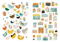 birds & houses.