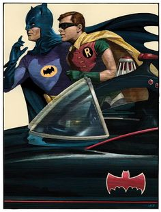 To the Batmobile