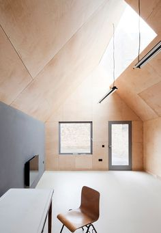 Loft | Glass Window Light Shaft In Roof
