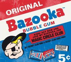 Just for the BAzooka Joe Comic inside